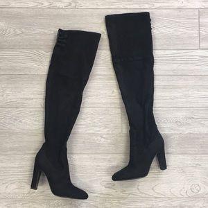 Suede Ivanka Trump Boots Size 6.5